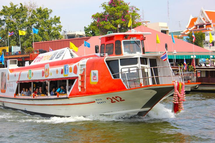 Bankok's busy waterways are easy to navigate with the various water taxi services