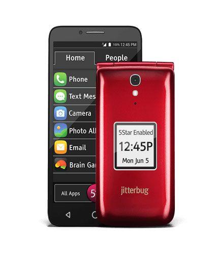 Jitterbug Smart and Flip cell phones for seniors