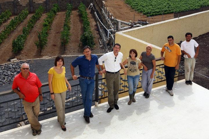 Equipo #Contiempo, trabajadores de la #bodega y amigos