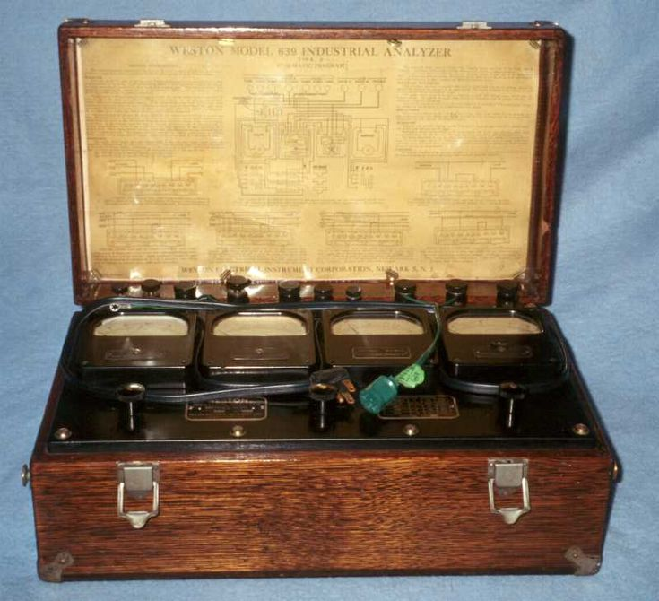 Vintage Electrical Measuring Instruments : Images about antique test equiptment on pinterest