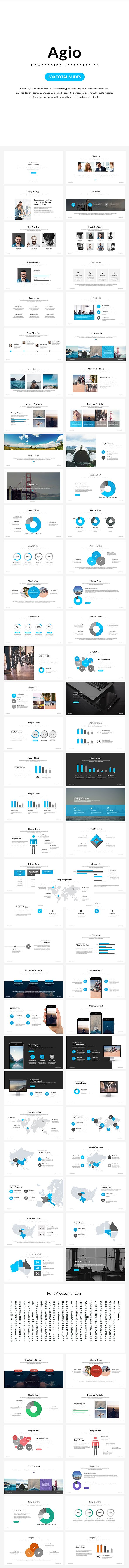 Agio Powerpoint Presentation — Powerpoint PPT #minimal #clear • Download ➝ https://graphicriver.net/item/agio-powerpoint-presentation/19385282?ref=pxcr