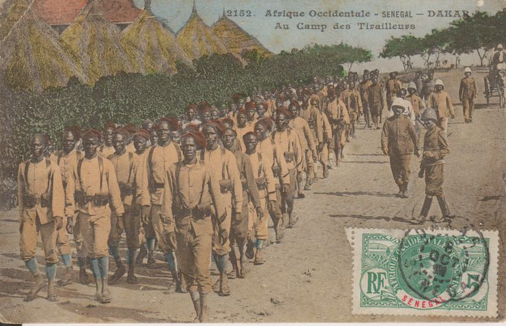 French Colonial Troops, Senegal
