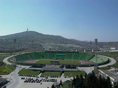 Stadium Asia Ferhatović Hase FK Sarajevo