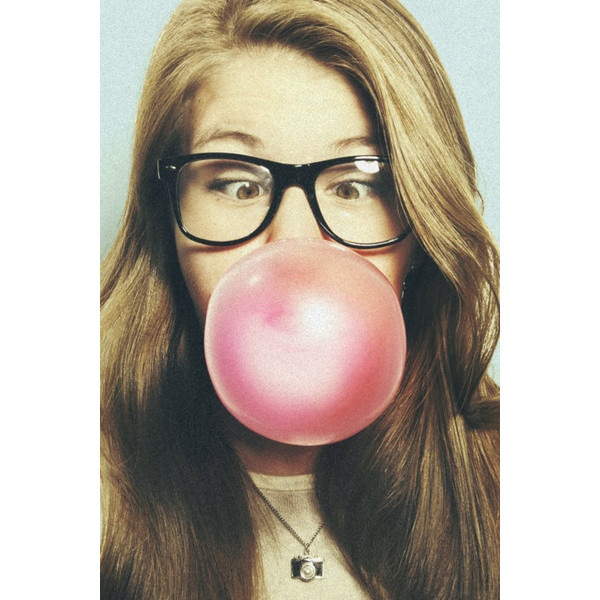 buble gum | Tumblr ❤ liked on Polyvore