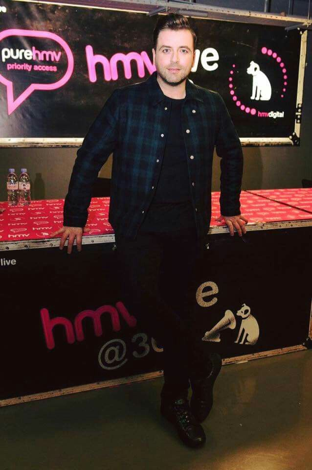 My lover you are very handsome... I MARKUS FEEHILY