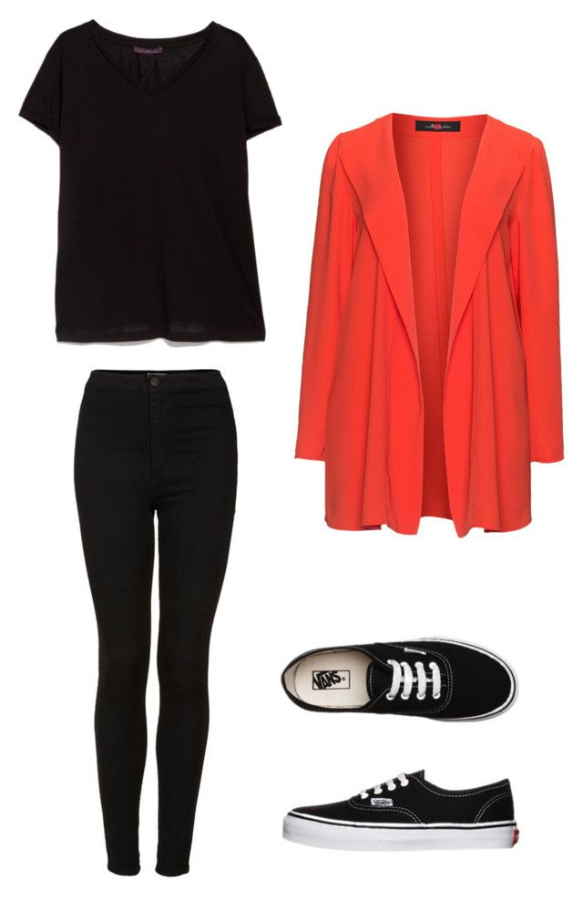 """""""R4"""" by laurrao on Polyvore featuring Sallie Sahne, Vans, Topshop and MANGO"""