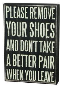shoes off sign - Google Search