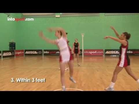 Netball Passing and Defending Drill