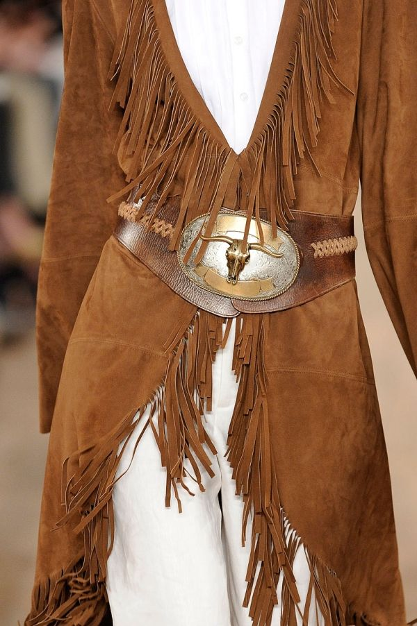 Ralph Lauren - Love this! UMMM... LIKE A JACKET I ONCE HAD ..BUT SHORT CUT TO THE HIPS - #fashion #beautiful #pretty http://mutefashion.com/