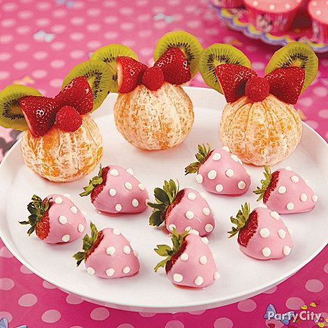 Minnie Mouse Party Ideas: Food - Click to View Larger