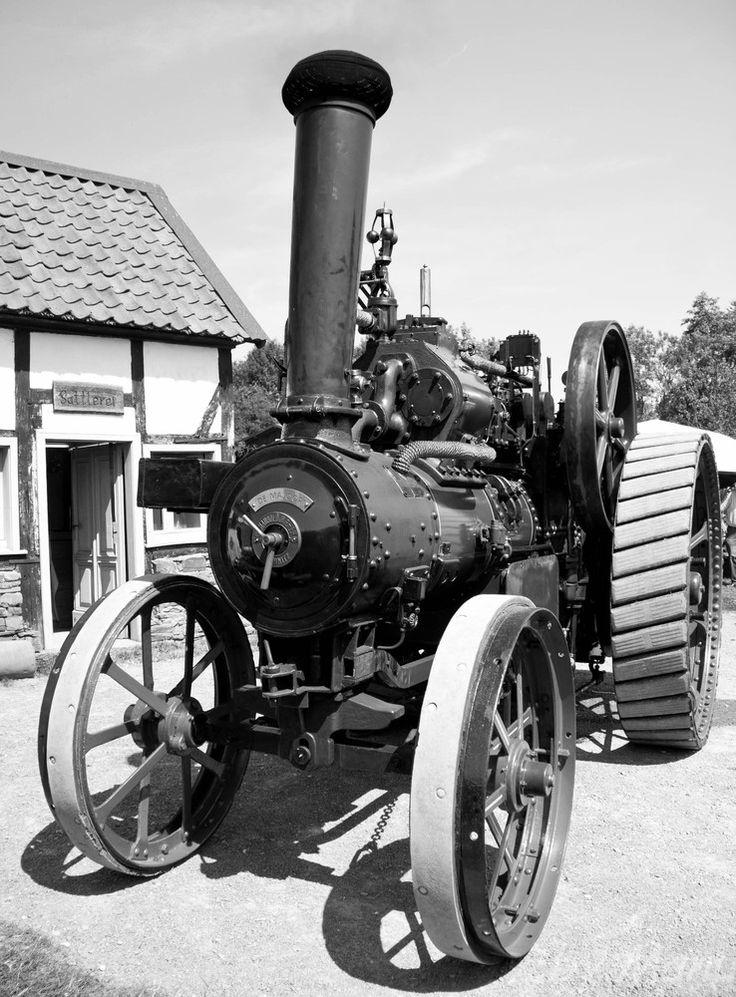 Kemna Steam Dampftraktor von 1918