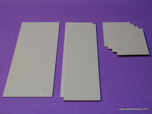 Cómo se hace una caja de cartón gris con compartimentos: construye ...