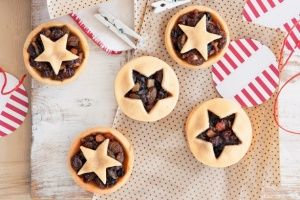 Send some old school mince pies to the local nursing home for patients and staff to bring some festive cheer to the room.