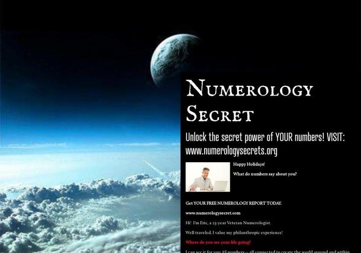 Numerology Secret's page on about.me – http://about.me/numerologysecret