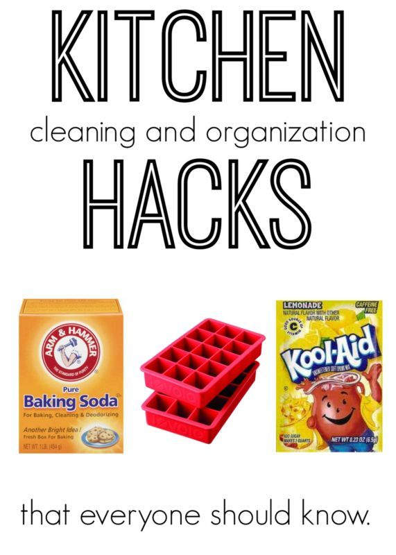 Kitchen Cleaning & Organizing Hacks everyone should know and use!