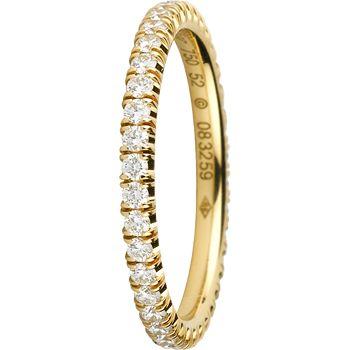 ウェディング リング - Cartier(カルティエ)の結婚指輪(マリッジリング)イエローゴールドのエンゲージリング・婚約指輪一覧❤