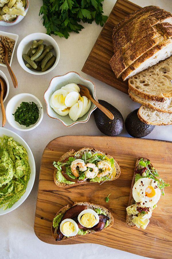 Heirloom Tomato Salad for an Avocado Toast Bar | FoodforMyFamily.com ...