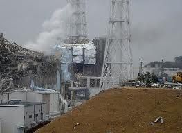 Vapori radioattivi emessi dal reattore di Fukushima esploso.