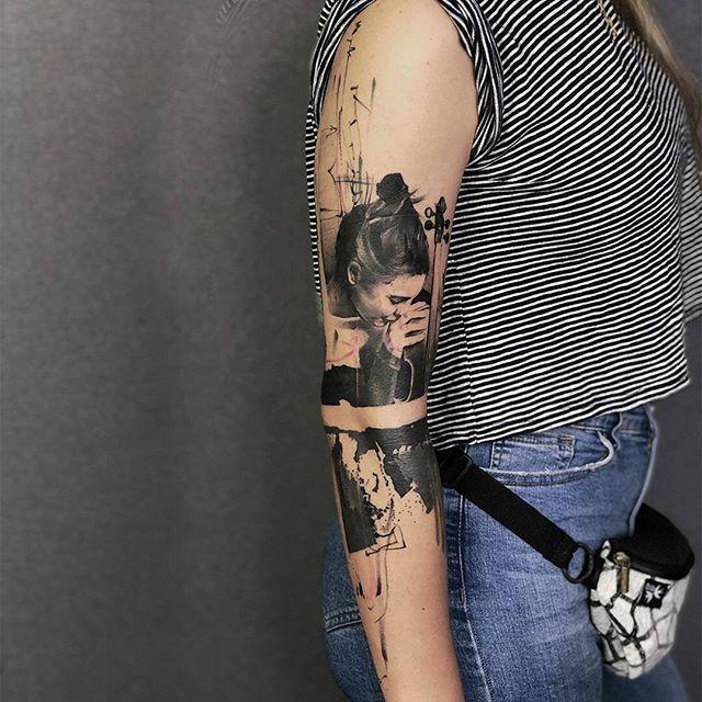 Portrait Artem Artem Koro From Miami Usa Fl Usatattoo Tattoousa Miamitattoo Floridatattoo Portraittattoo In 2020 Sleeve Tattoos Tattoos Full Sleeve Tattoo
