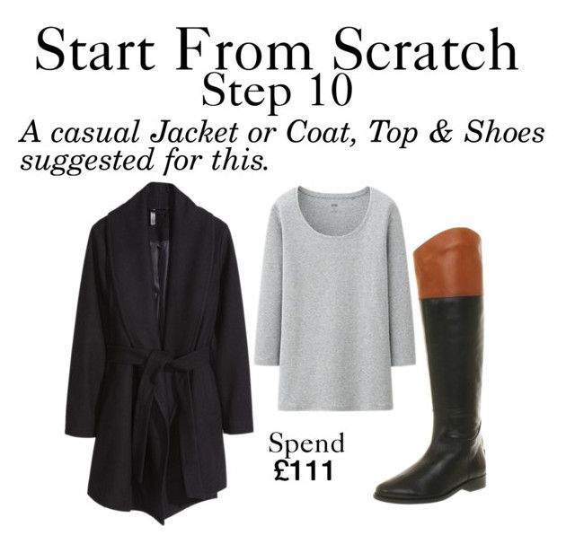 """""""Start From Scratch - Step 10"""" by charlotte-mcfarlane ❤ liked on Polyvore featuring Office, H&M and Uniqlo"""