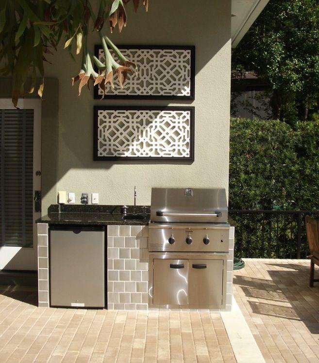 best 20+ small outdoor kitchens ideas on pinterest | outdoor