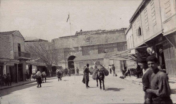 Heraklion, Gate of Chania 1900