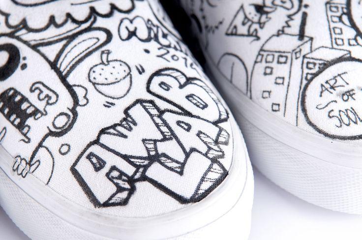 Vans Limited Edition Classic&AWLAB http://tinyurl.com/lpozpyo   #vans #ClassicAndAWLAB #artofsool #sneakers #limitededition