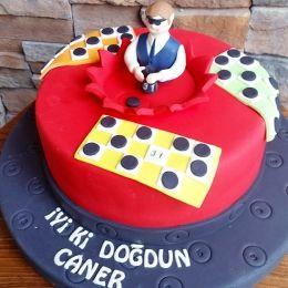 Tombala  Torte Torta Birthday Geburtstag Doğum günü Cake