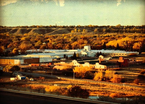 Medalta Potteries and the Flats in Medicine Hat, Alberta. // Photo Editing Luke