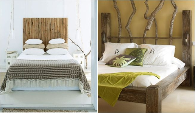 Ideas originales para cabeceros de camas cabeceros - Cabeceros cama caseros ...