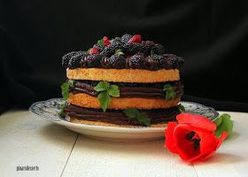 Pınar's Desserts: Taze Meyveli Dacquoise (Dakuaz)