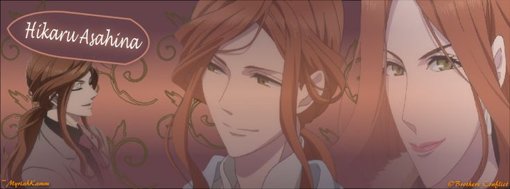 Hikaru Asahina, from Brothers Conflict. FB cover size.