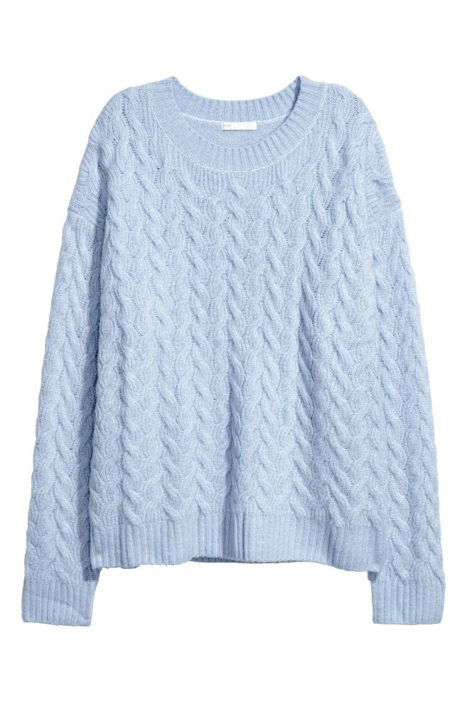 539a4498ee8 Cable-knit jumper in 2019 | Things to wear | Cable knit jumper ...
