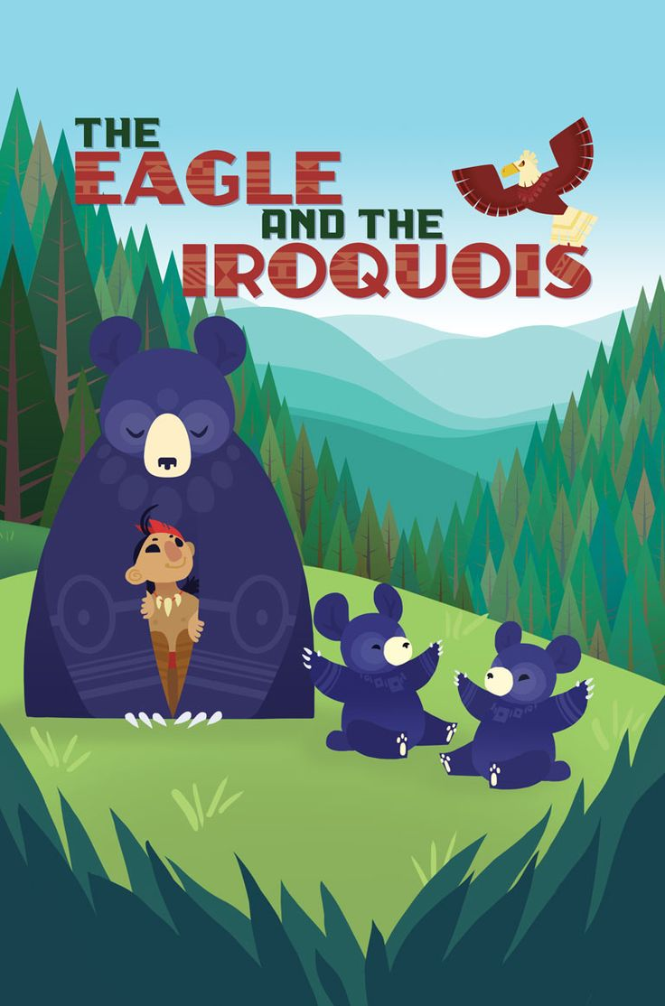 The Eagle and the Iroquois - A Native American Folktale - Beautifully illustrated!