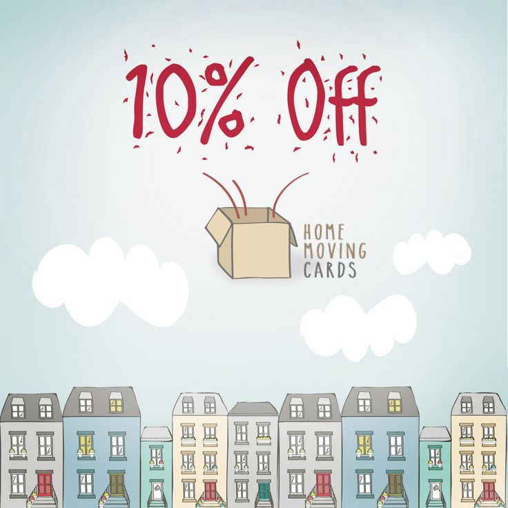 www.homemovingcards.com Are you or any of your friends moving any time soon? Then print your change of address cards with Home Moving Cards and get 10% OFF your order! :) Promo Code: move10  It's the best way to let everyone know about your new home!