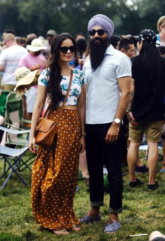 Sikh street style at Pitchfork.