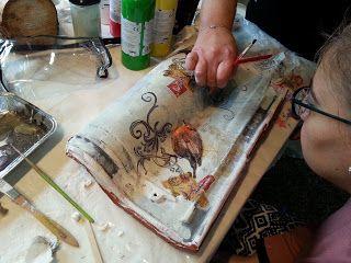 Πηγές του κόσμου knit - crochet cafe - Ολοφύτου 4 Ανω Πατήσια: ... των σεμιναρίων decoupage με μικτές τεχνικές, η...