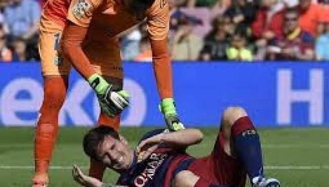 Messi got injured and ruled out for three weeks