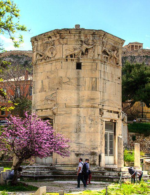The Tower of the Winds - Ο Πύργος των Αέρηδων. Dreamingreece #athens #greece #dreamingreece #archaeologicalsite