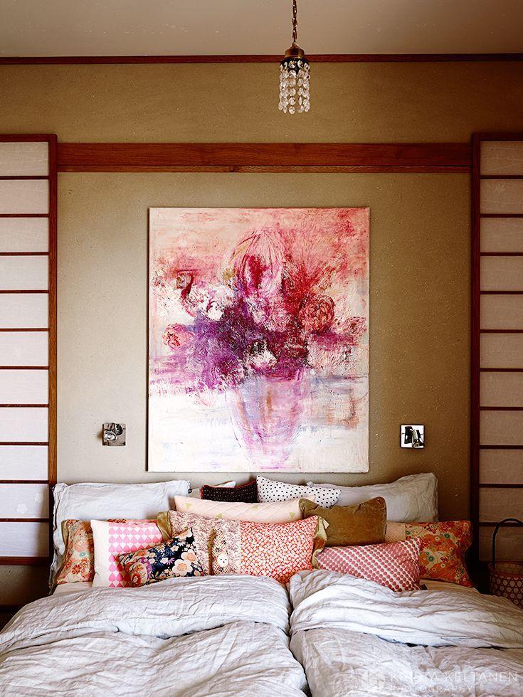 Japanese inspiration interpreted by  me http://www.gloria.fi/blogit/mrs_jones/my_work_sisustussuunnittelija_anne_marie_reinikan_kotona