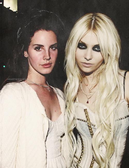 Lana Del Rey & Taylor Momsen | Celebrities | Pinterest | Taylor Momsen ...