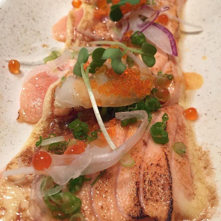 #salmon #sake #aburi #연어 #아부리 by saraheunjiyoo