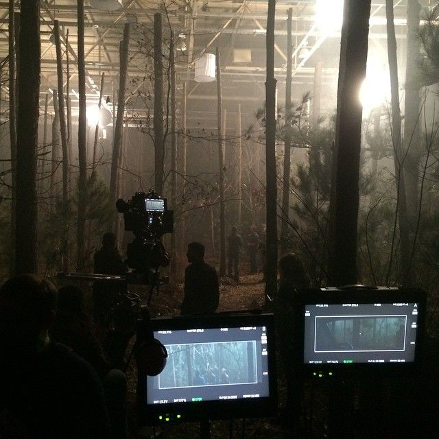 Behind the scenes on the last day of shooting The 5th Wave. | photo from