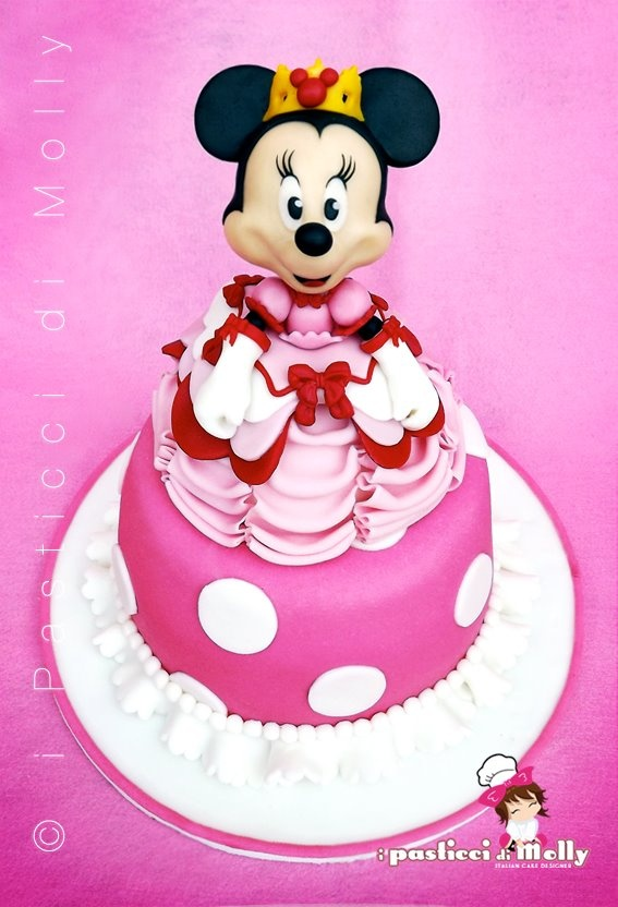 Cake Minnie Mouse Pinterest : 17 Best images about Minnie Mouse Pink Cakes on Pinterest ...