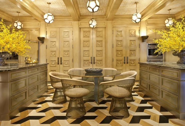 Kelly Wearstler Interiors Bellagio Residence Kitchen