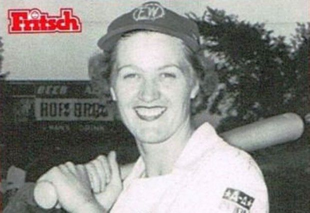 Mary Moore, who played second base in the All American Girls Professional Baseball League, will speak at 1 p.m. Nov. 5 on the teams formed to keep the sport alive through World War II.
