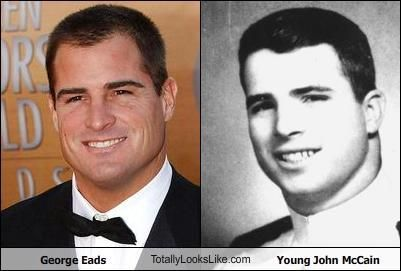 George Eads and Young John McCain