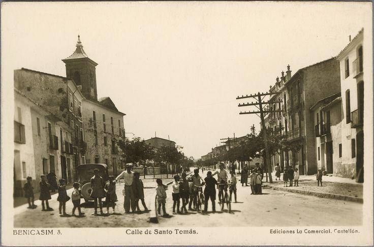 Calle de Santo Tomás : Benicasim. (s.a.) - Anónimo