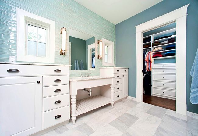 Bathroom cabinets how to combine practicality and aesthetics photo 24