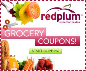 Get weekly coupons from redplum!  Don't forget to check back often for new promotional items.